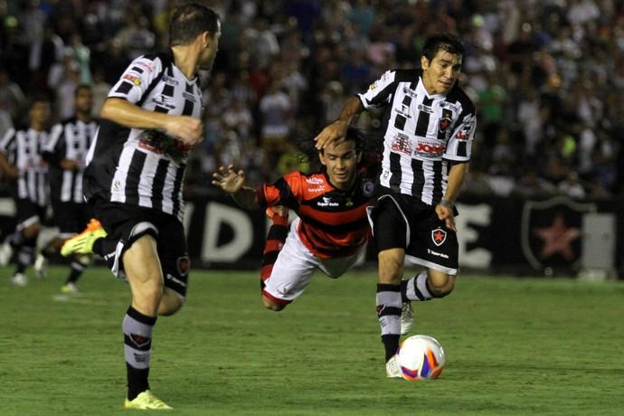 botafogo-pb, campinense, campeonato paraibano, clássico (Foto: Francisco França / Jornal da Paraíba)