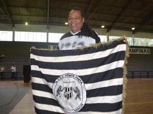 Presidente da Ponte Preta Amor Maior, Paulo Roberto Maguila desta a superação dos carnavalescos para conseguir voltar a elite do carnaval (Foto: Arthur Menicucci/ G1 Campinas)