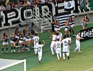 Ceará x Flamengo gol Bill Arena Castelão (Foto: Juscelino Filho)