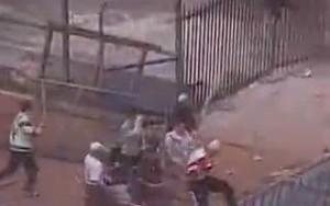 briga de torcida supercopa palmeiras sao paulo 1995 (Foto: reprodução)