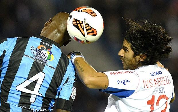 Loco Abreu jogo Nacional contra Real Garcilaso (Foto: AFP)