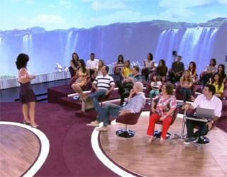 Cataratas no Encontro com Fátima Bernardes (Foto: Reprodução/ TV Globo)