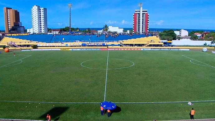 Colo Colo x Vitória (Foto: Imagens/TV Bahia)
