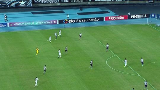 Empate com o Botafogo expõe pontaria ruim do Atlético-MG no Brasileirão
