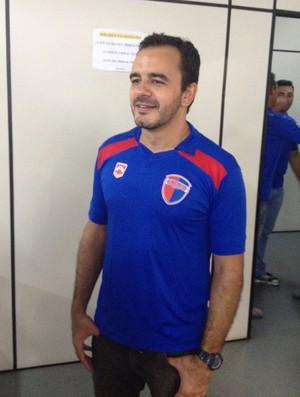 Claudemir Alves Gonçalves Neto auxiliar técnico do Grêmio Prudente (Foto: Ronaldo Nascimento / GloboEsporte.com)