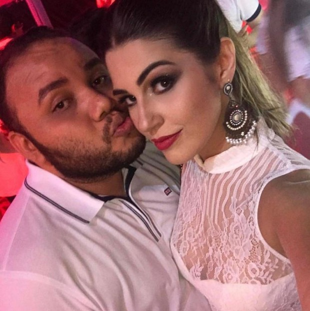 Vivian Amorim com o amigo João Paulo Santos (Foto: Reprodução/Instagram)