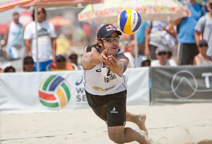 Bruno Schmidt, Vôlei de Praia (Foto: Divulgação / FIVB)
