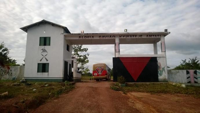Tribo Kyikatejê (Foto: Andre Laurent/TV Liberal)
