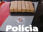 Após perseguição, PM detém casal com 11 kg de maconha em veículo