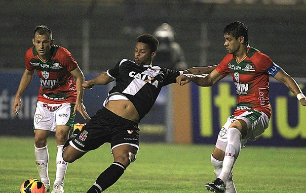 André jogo Vasco contra Portuguesa (Foto: Marcelo Sadio / Site do Vasco)