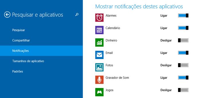 Desative completamente os alertas de alguns apps (Foto: Reprodução/Paulo Alves)