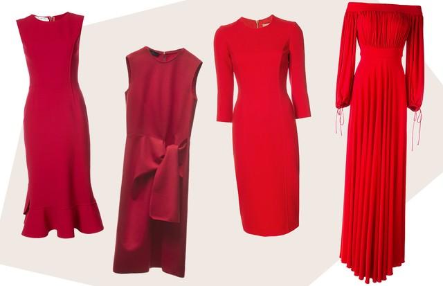Vestidos de festa: 10 looks vermelhos atemporais para convidadas (Foto: Reprodução, Farfetch e Divulgação)