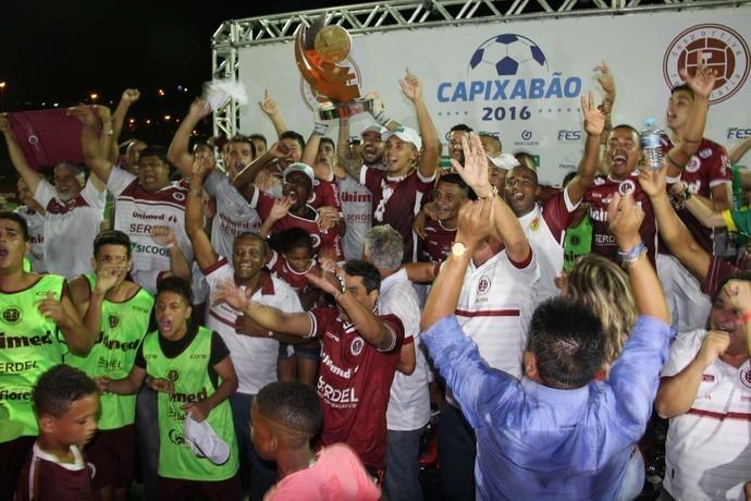 Desportiva é o campeão do Capixabão 2016 (Foto: Henrique Montovanelli)