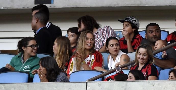 Ronda Rousey Flamengo x Santos Maracanã (Foto: André Durão)