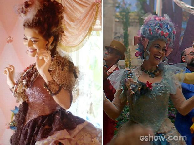 Catarina sempre exibe figuros de arrasar  (Foto: Meu Pedacinho de Chão/TV Globo)