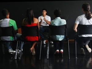 Curso de percepção musical em Macaé (Foto: Moisés Bruno/Secom Macaé)