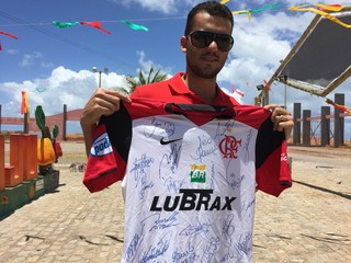 Jailton ex-Flamengo Aracaju (Foto: Raphael Zarko)