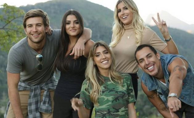 Os participantes do reality 'Alto Leblon' (Foto: Divulgação)