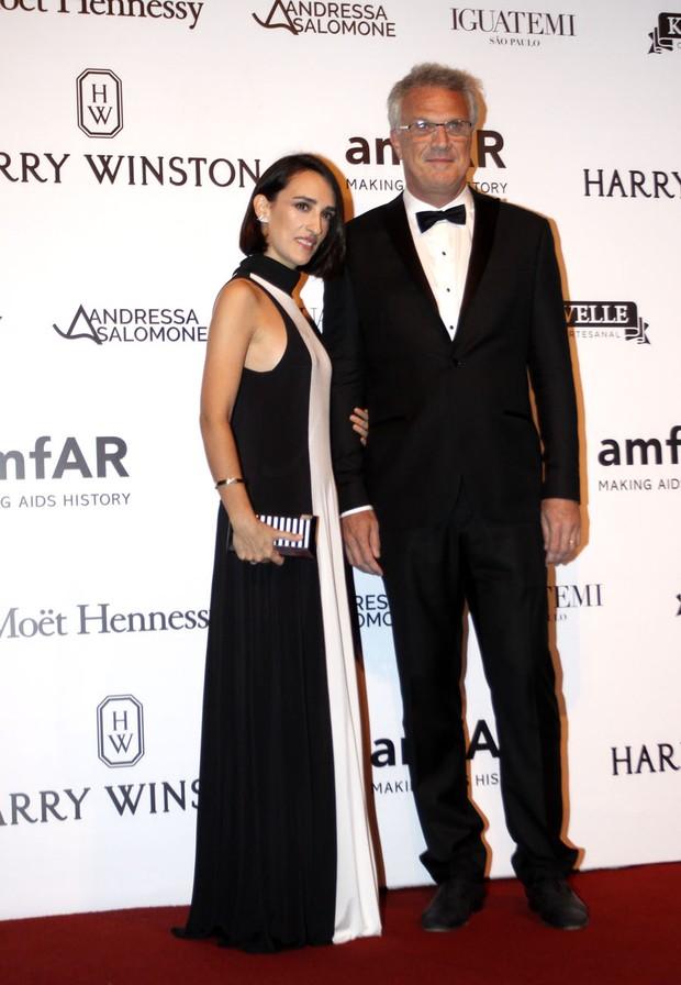 Pedro Bial e Maria Prata  (Foto: Celso Tavares / Ego)