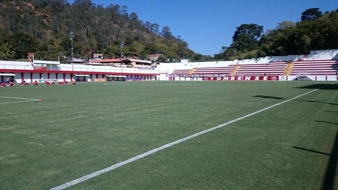Tombense Botafogo-SP Tombos Série C (Foto: Bruno Ribeiro)