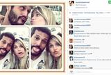 Na expectativa pela estreia, Julio  César faz careta com Suzana Werner (Reprodução / Instagram)