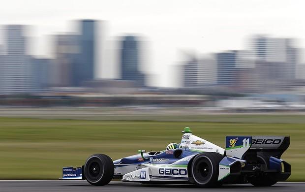 O brasileiro Tony Kanaan teve dificuldades com o acerto do carro e larga apenas em 22º (Foto: LAT/ IndyCar)
