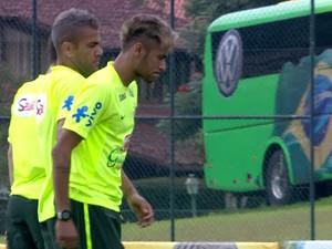 GNews - Seleção brasileira, treino, Copa do Mundo (Foto: globonews)