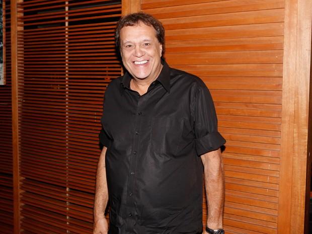 Dennis Carvalho, diretor geral e de núcleo, chegou ansioso para a estreia (Foto: Felipe Monteiro/Gshow)