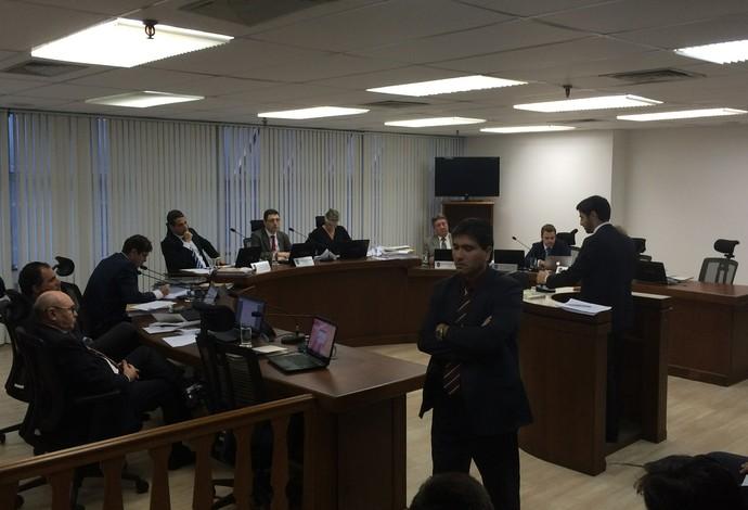 Julgamento STJD Palmeiras Flamengo (Foto: Chris Mussi)