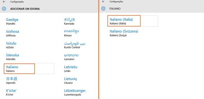 Encontre o item de Italiano da Itália (Foto: Reprodução/Barbara Mannara)