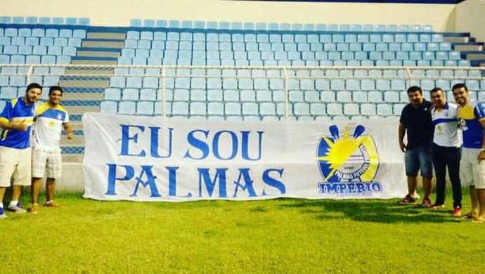 Torcedores do Palmas (Foto: Arquivo Pessoal)