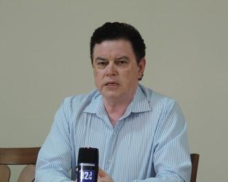 Benedito Sampaio, vice-presidente do Atlético Sorocaba (Foto: Emilio Botta)