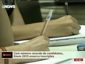 enem (Foto: globo news)