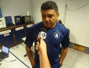 Flávio iniciou o trabalho no Clube do Remo (Foto: Gustavo Pêna/GLOBOESPORTE.COM)