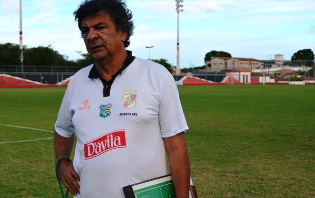 Ribeiro Neto assume o River Plate-SE (Foto: Felipe Martins/GLOBOESPORTE.COM)