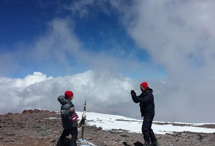 alpinismo tyler armstrong aconcágua (Foto: Agência AP)