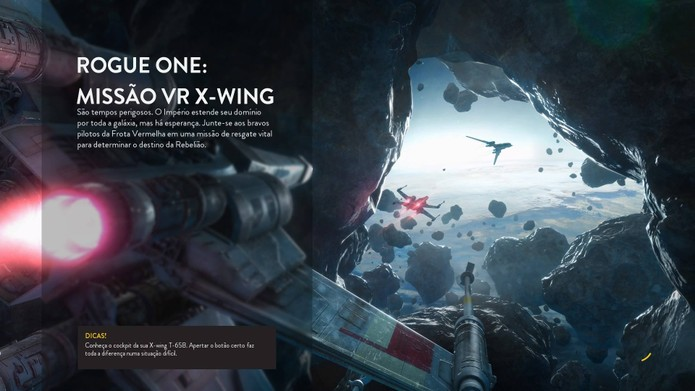 Missão de Rogue One leva o VR a Star Wars (Foto: Reprodução/Felipe Vinha)