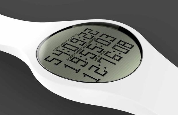O relógio Tikker, que faz contagem regressiva para a morte (Foto: Divulgação)