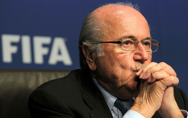 joseph blatter presidente da fifa (Foto: Ag&#234;ncia Reuters)