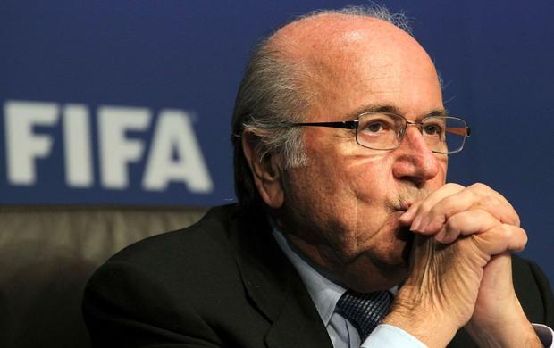 joseph blatter presidente da fifa (Foto: Agência Reuters)