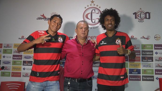 chapinha, roger gaúcho, dorgival pereira, campinense (Foto: Reprodução / TV Paraíba)