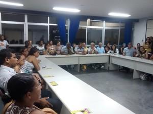 I Encontro do Projeto de Atenção à Pessoa com Lúpus em Petrolina (Foto: Juliane Peixinho/ G1)
