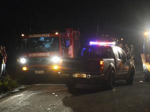 Acidente ocorreu na noite de terça-feira (16), no sudoeste baiano (Foto: Blog do Anderson)