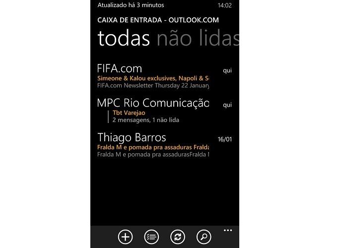 Pronto! E-mail foi configurado com sucesso (Foto: Reprodução/Thiago Barros)