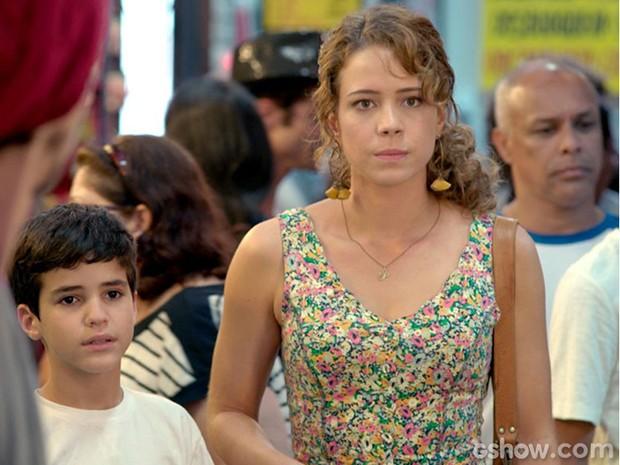 Leandra Leal vive Cristina, filha bastarda do protagonista (Foto: Reprodução/ Rede Globo)