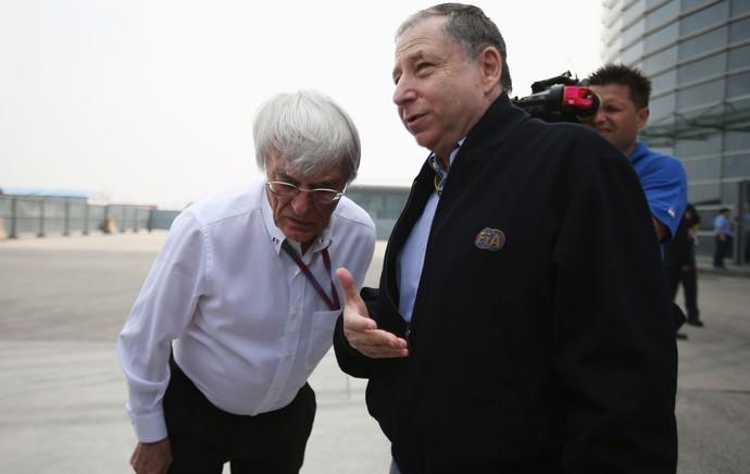 Bernie Ecclestone e Jean Todt, F1 (Foto: Getty Images)