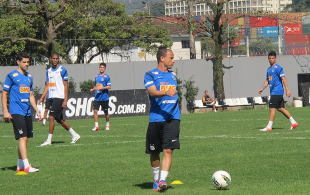 Treino do Santos (Foto: Lincoln Chaves)