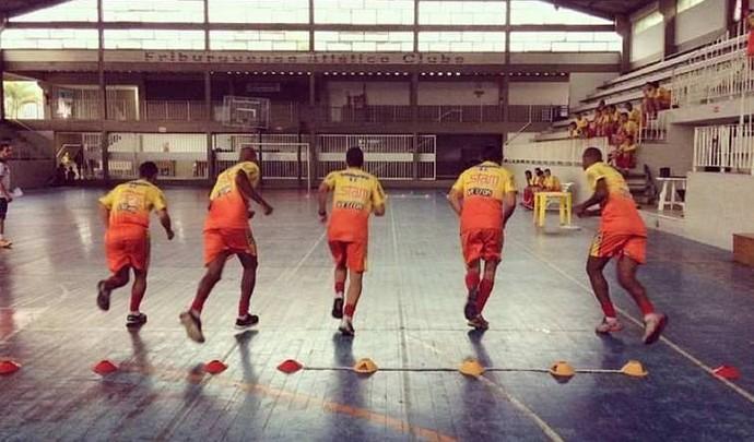 Friburguense tem se preparado para a Copa do Brasil (Foto: Divulgação)
