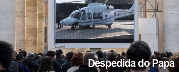 AO VIVO: após se despedir de cardeais, Bento XVI se prepara para deixar Vaticano (AO VIVO: após se despedir de cardeais, Bento XVI se prepara para deixar Vaticano (Stefano Rellandini/Reuters))