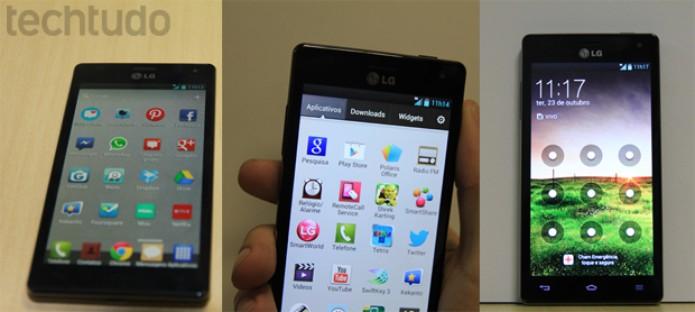 Um smartphone fino e compacto com um belo acabamento (Foto: Rodrigo Bastos/TechTudo)